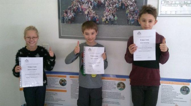 22.01.2018 – Mathematikolympiade