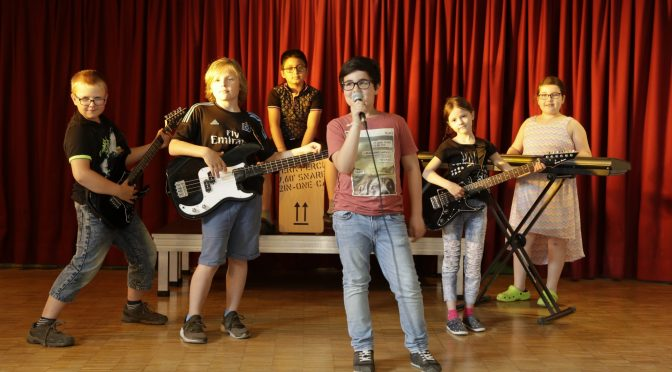 15.05.2018 – Rolf Zuckowski-Stiftung unterstützt die RaHö-Kinderband