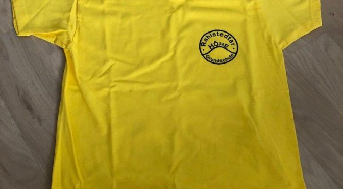 16.06.2019: Neue Schul-T-Shirts