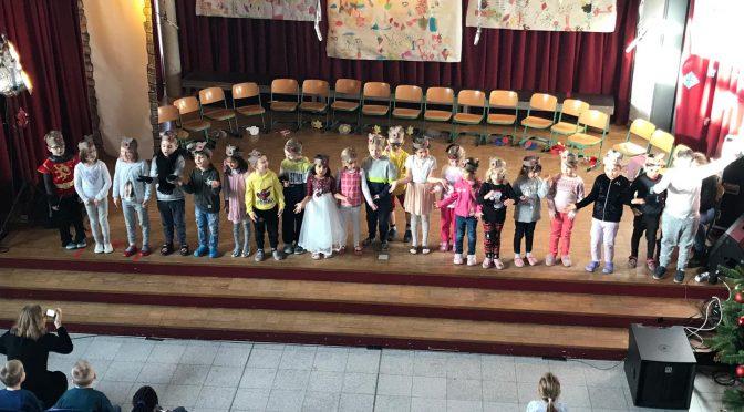 Dez. '19 – Vorschüler begeistern mit Theaterstück